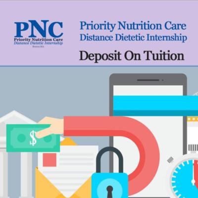 Deposit on Internship Tuition (Pay First)